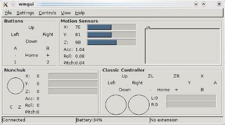 Capture d'écran de wmgui